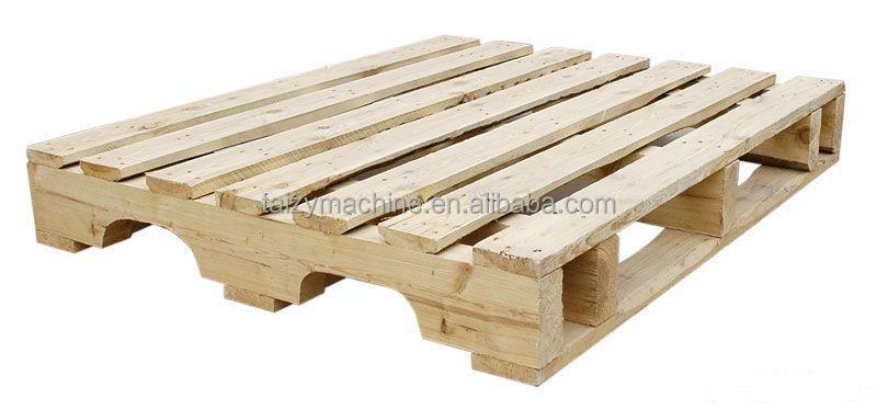 Automatic Stringer Wood Pallet Making Machine0086 15037105257