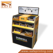 Custom Duracell Battery Corrugated Display Rack