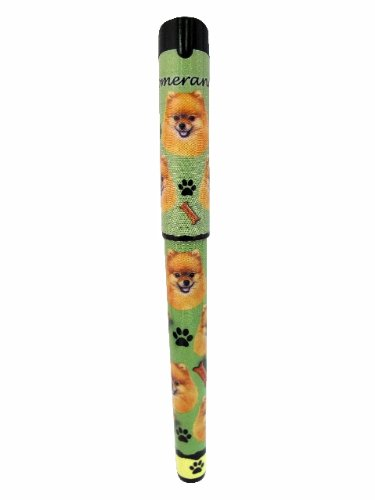 E&S Pets Pomeranian Pen Easy Glide Gel Pen, Refillable With A Perfect Grip, Great For Everyday Use, Perfect Pomeranian Gifts For Any Occasion