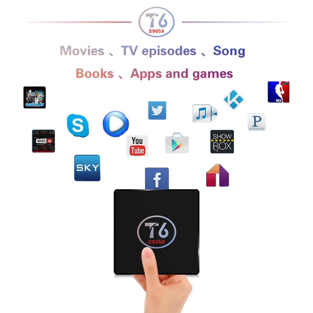 Umelody Factory Price T6 S905x Tv Box Mp4 Download Hindi Video Songs 2gb  16gb Android 7 1 Smart Tv Box Conax Satellite Receiver - Buy T6 S905x Tv