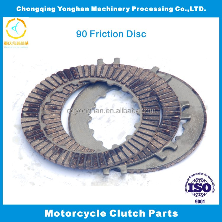 Best quality wear-resistant 70 Clutch fibre,clutch plate motorcycle for C70