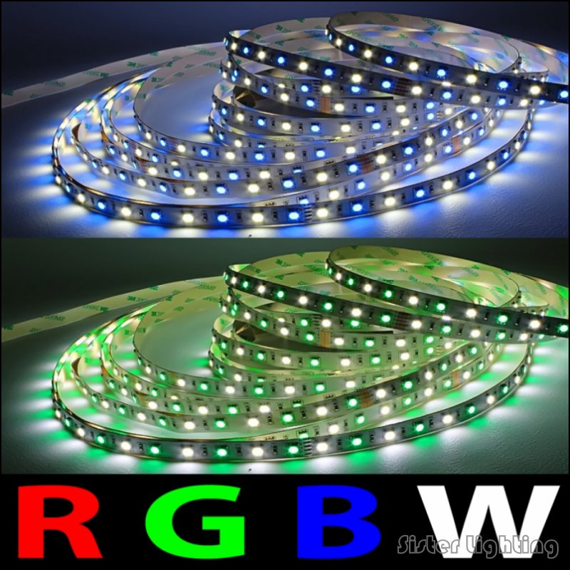 5m rgbw rgbww 5050 led strip light waterproof dc12v smd 60leds m 300 leds led flexible strip led. Black Bedroom Furniture Sets. Home Design Ideas