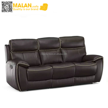 Leathaire home sofa set, Cheers okin recliner chair