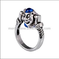 925 pure silver sterling ring, European beads, fashion ring S-6