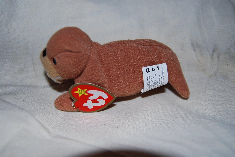 TY McDonald's Teenie Beanie - #9 TUSK the Walrus (2000)