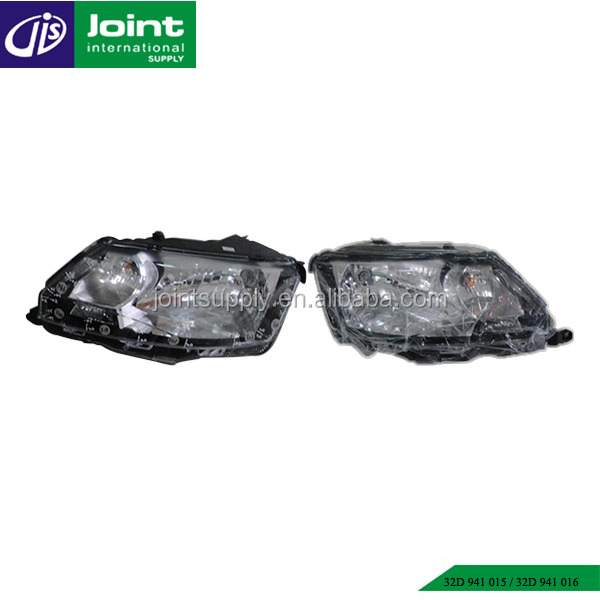 Auto spare parts car 32D 941 015 / 32D 941 016 headlight for Skoda Rapid