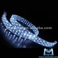 Flexible 100mm Pvc 3 Wires Led Rope Light