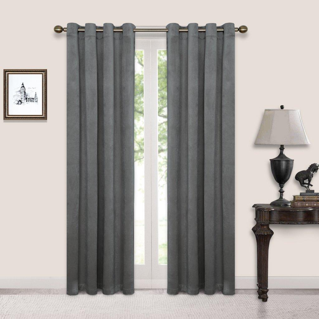 petrol curtain liv curtains interior product blackout design cotton velvet blue