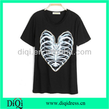 women cotton t-shirt with scree print