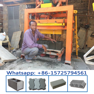 QTJ4-40 manual ghana brick making machine for sale