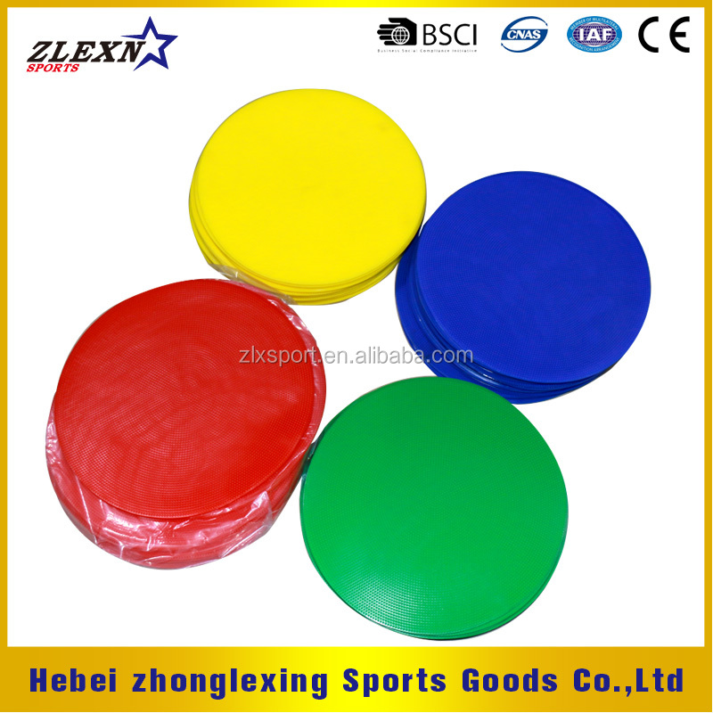 Bright-colored Poly Round Spot Marker