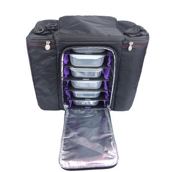 Custom Wholesale Sport Cotton Gym Bag Shoulder Strap 6 Pack Fitness Cooler Meal Lunch
