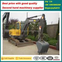 V olvo EC55B excavators used low price, used heavy equipment