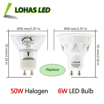Lohas Dimmable Gu10 Led Bulb Daylight