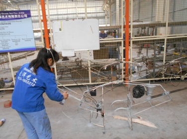 Frame Spraying