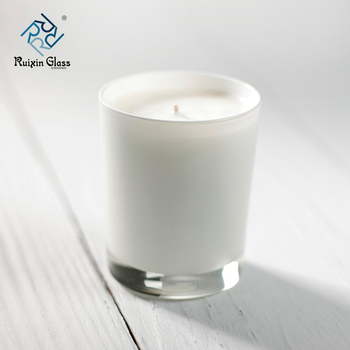 12 oz White Glass Jars Candle Tins Supplies Making