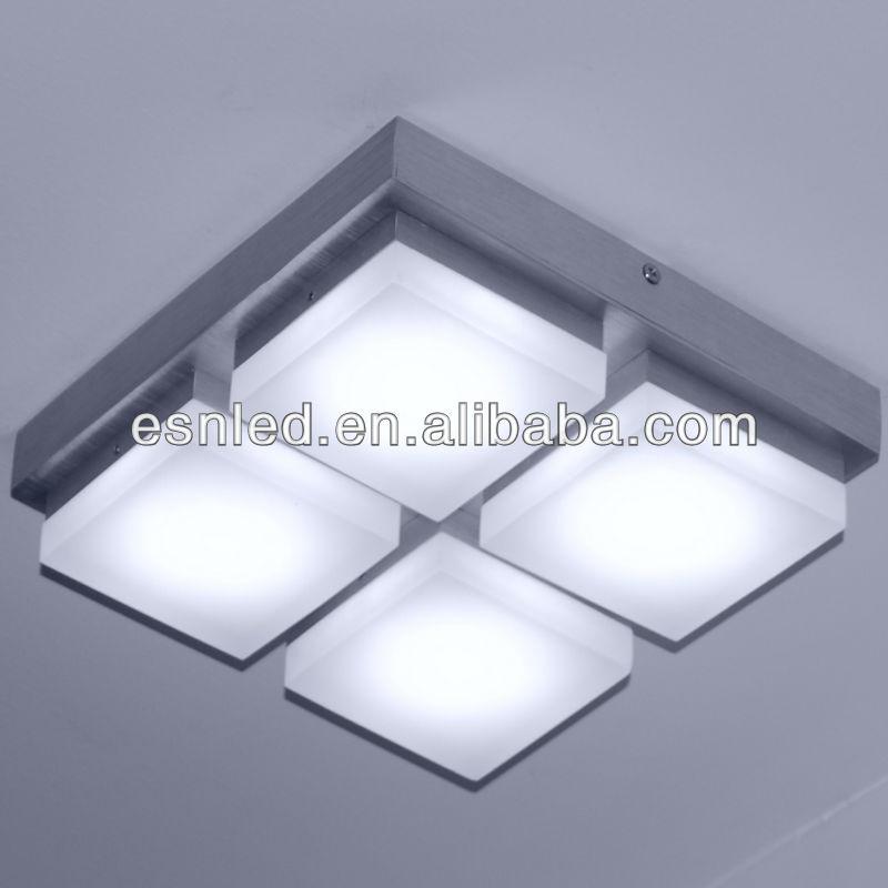 Iluminacion para techos bajos elegant comedor con gran - Lamparas para techos bajos ...