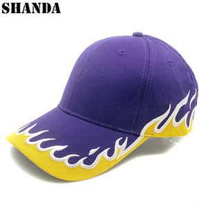 baseball cap flame embroidery match city sport f1 race caps hats