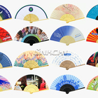 Fans Wedding Fan Paper Bamboo Hand Fan Personalized Bamboo Paper Hand Fans For Wedding Invitation
