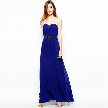maxi peplum evening dresses