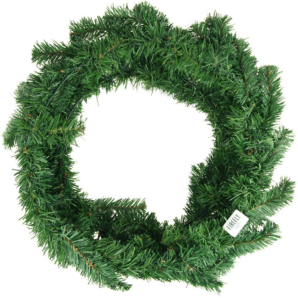 get quotations artificial christmas pine wreaths plain green 24 inch