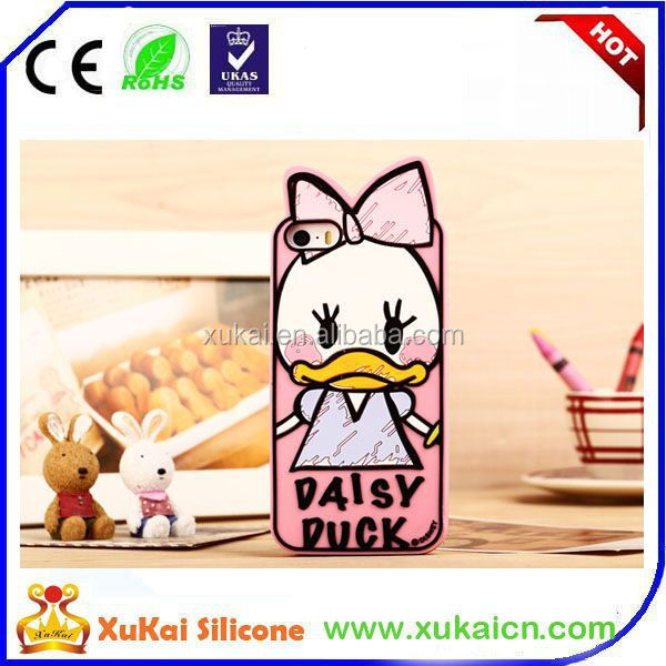 3D specialized cartoon ilicone mobile phone covers