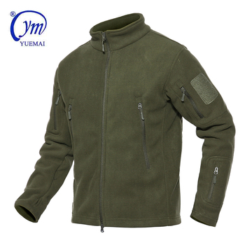 Military Army Waterproof wholesale custom fleece jacket men