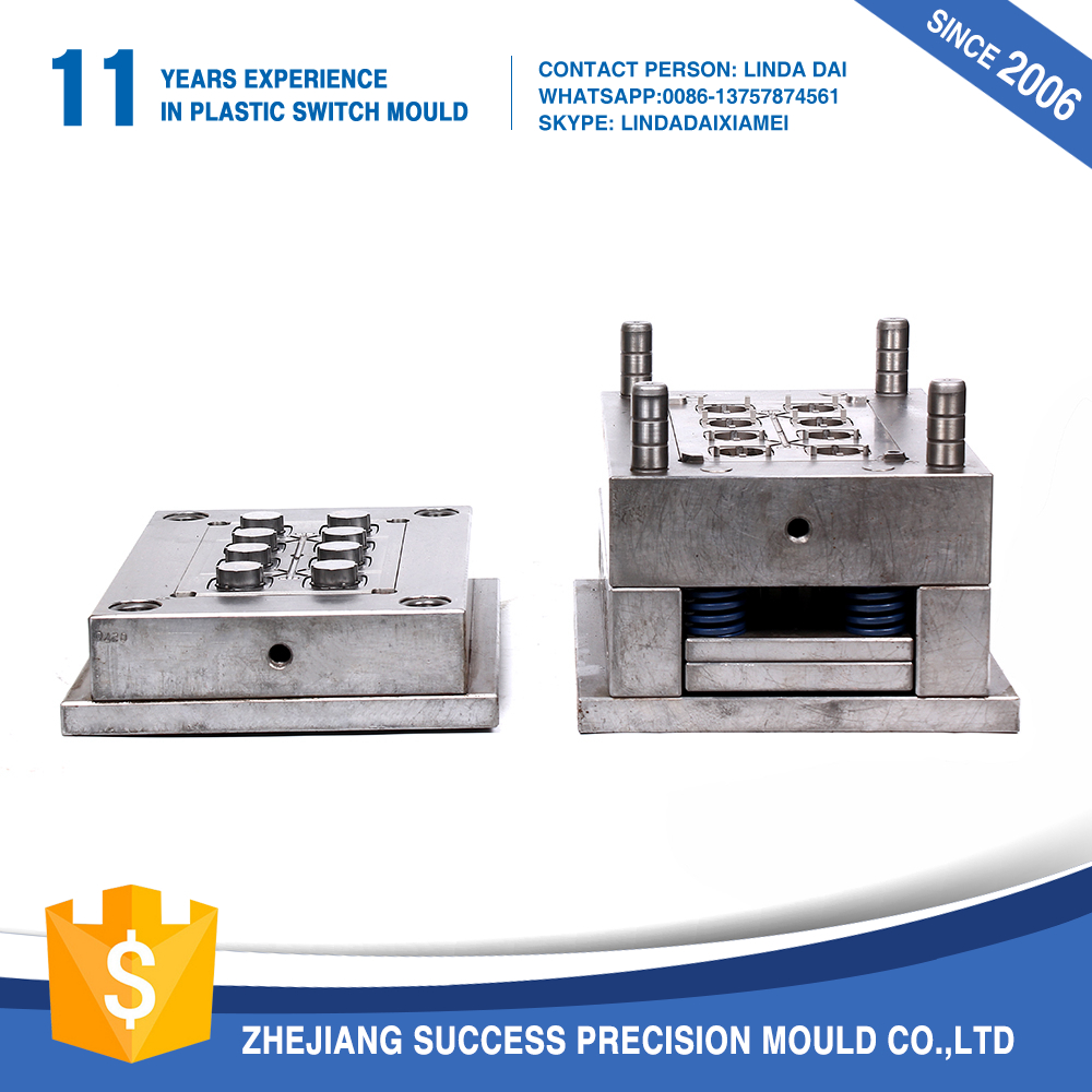 New design display function widely used reliable quality plastic injection mould