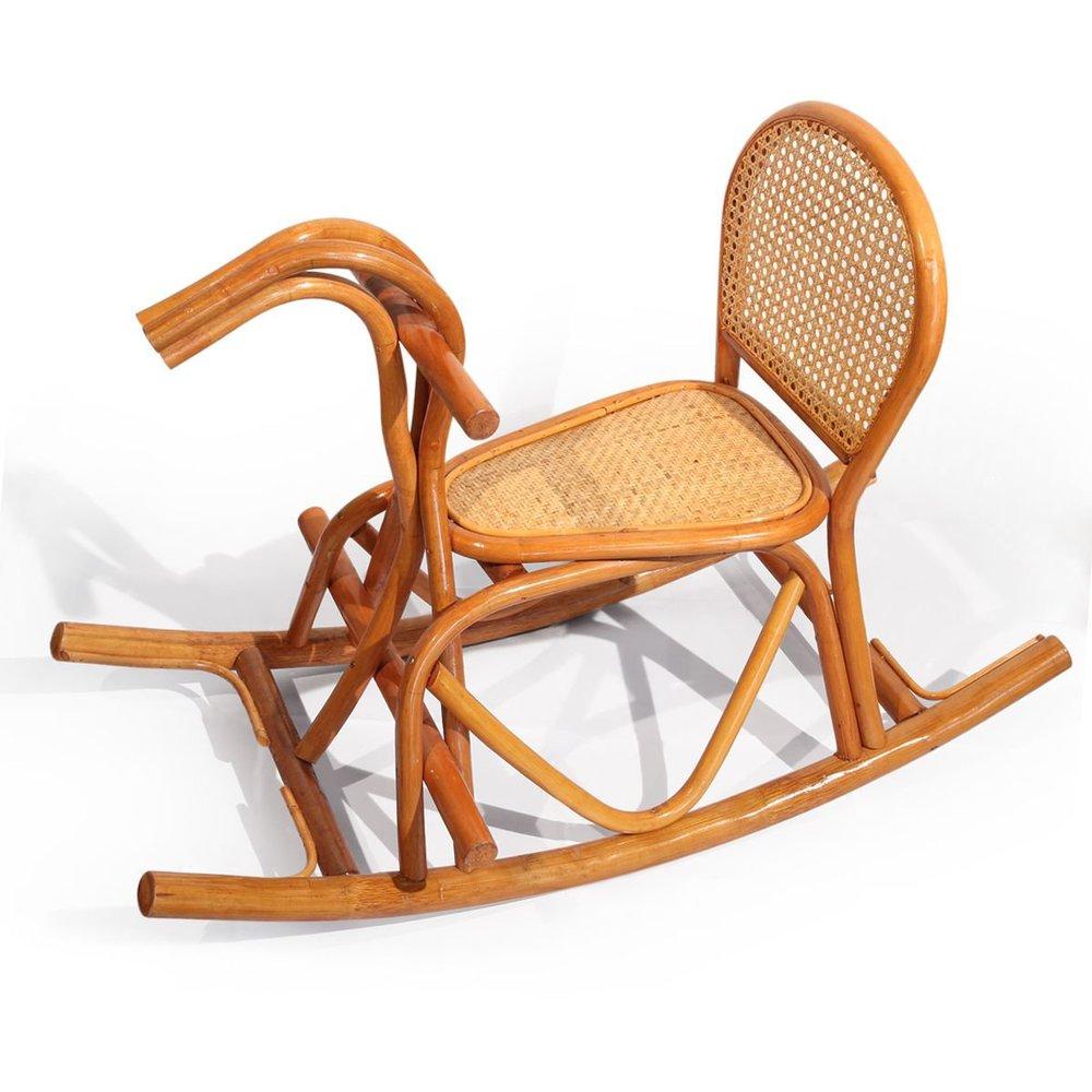 rattan handwerk schaukelpferd schaukel junge kind reiten pferd spielzeug spielzeug praktische. Black Bedroom Furniture Sets. Home Design Ideas