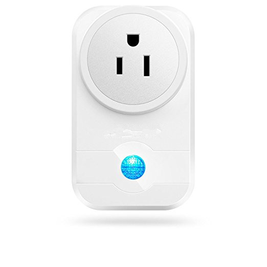 Mini Smart Plug, Wi-Fi Enabled, Works with Amazon Alexa and Google Assistant