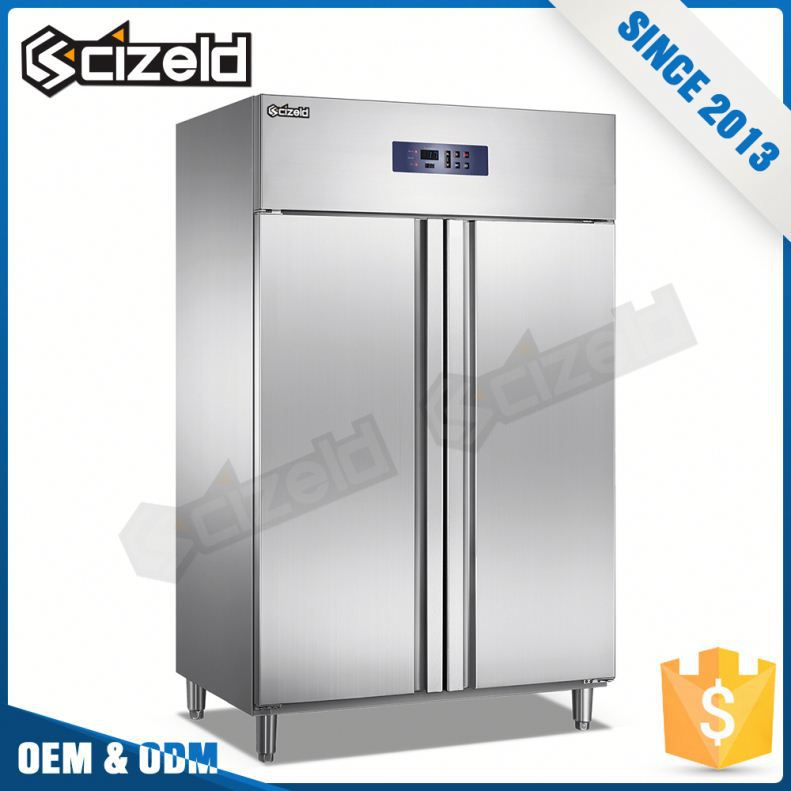 China Online Shopping Heavy Duty 2 Door Commercial Refrigerator