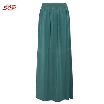 61090afe6 Falda Larga De Gasa Modelos Falda Para Las Mujeres - Buy Faldas Elegantes  Para Mujer,Última Falda Modelo,Falda Larga Para Niñas Product on ...