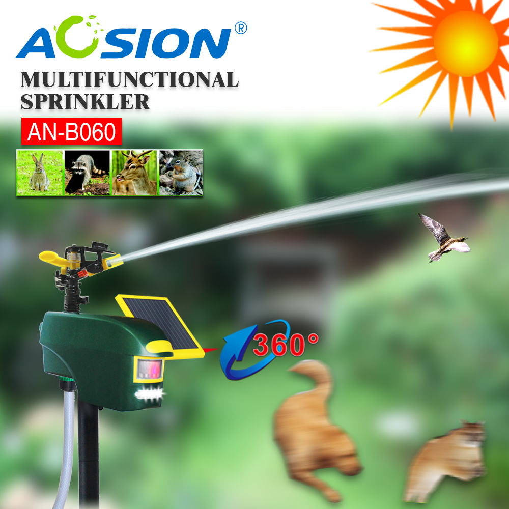 Aosion ulstrasonicbird and animal repellant animated singing birds