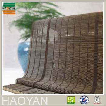 Chinese matchstick bamboo woven blinds shade for window house decoration
