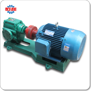 Hengbiao ZYB series high temperature pulley belt drive gear pump for transfer slag oil