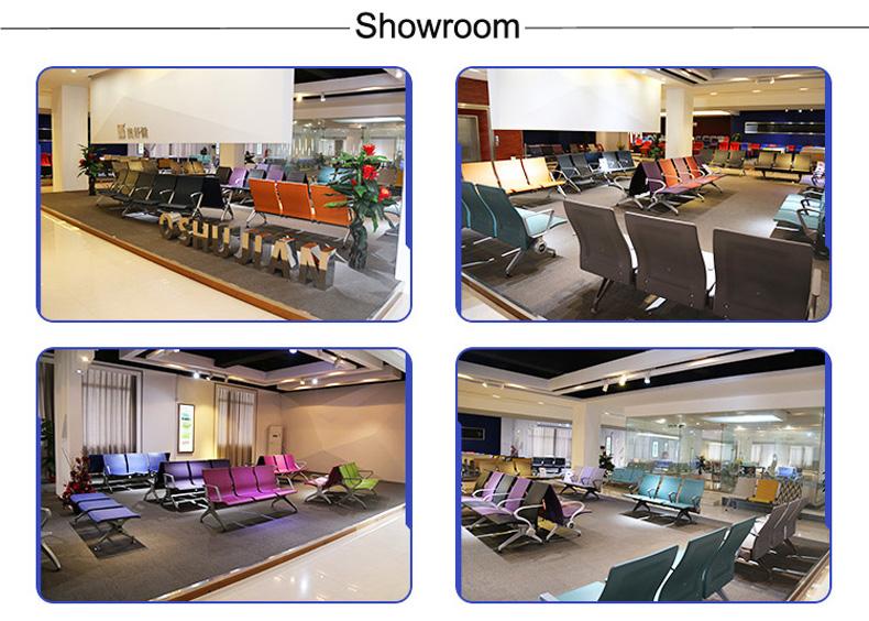 Foshan OSHUJIAN manufacturer 3 seater airport waiting chair SJ820