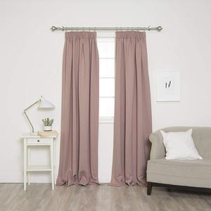 hotel blackout 230gsm 90*108in rod pocket/pencil pleat curtain
