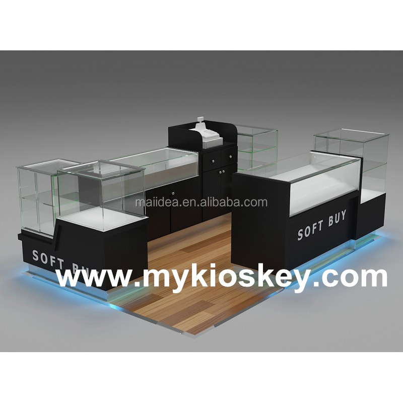 Glass cigarette display stand