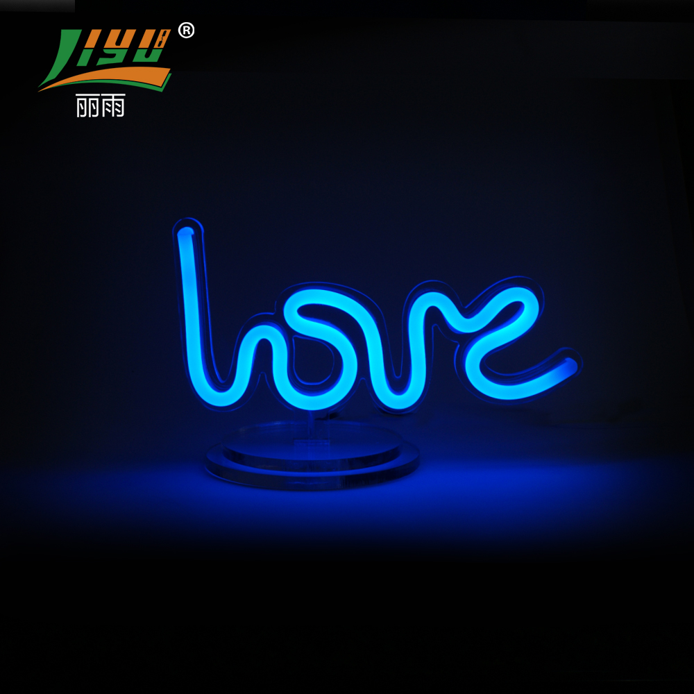 outdoor neon love light up letters for <strong>sign</strong>