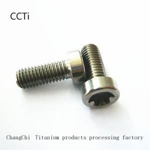 titanium m7 hex and torx socket bolt
