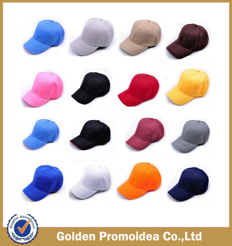 promotional more colors softtextile baseball cap and hat