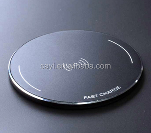 2018 Wireless Fast Charging Charger,Portable Customized OME&Logo QI Phone Charger for smart Phones
