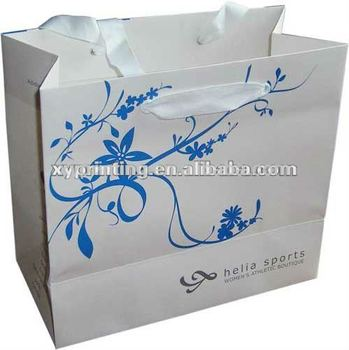 Printing custom bread packaging paper bags no minimum