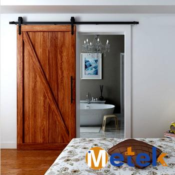 Soundproof Interior Sliding Barn Doors Solid Wood