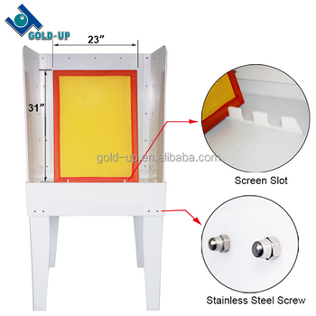 Hot Sale Screen Printing Washout Booth For Frames Cleaning Buy
