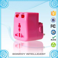 2016 new year hot selling popular Attractive gifts travel power charger & USB travel adapter