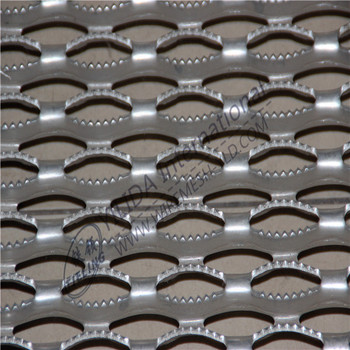 Non Slip Step Plateskid Plate Perforated Mesh Factory