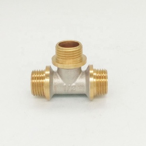 1/2'' Brass CP F-Tee fittings
