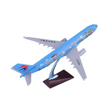 Airbus A330-300 Big Scale 47cm Resin Aircraft Passenger Diecast Display Commercial Advertisement China Eastern Airplane Model