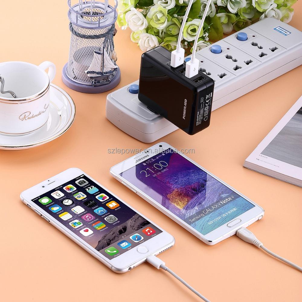 Multi usb chargeur 4 port usb adaptateur de charge 40 w pour smartphone et tablette adapteurs id - Multi chargeur usb ...